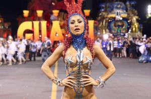 Sabrina Sato recorreu a injeção para desfilar na Gaviões da Fiel: 'Gripadíssima'