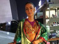 Thaila Ayala toma injeção antes de desfile na Grande Rio: 'Sinusite e amidalite'