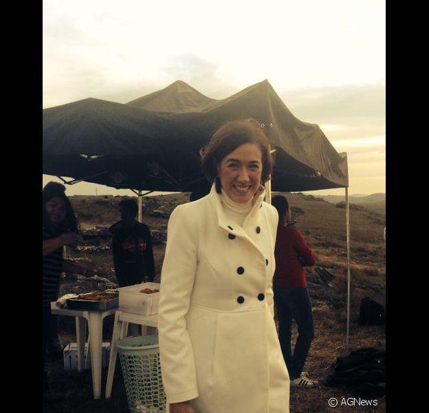 Lilia Cabral Lilia Cabral apareceu caracterizada como sua personagem na novela 'Império'