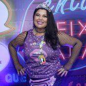 Solteira, Fabiana Karla curte carnaval acompanhada: 'Estou conhecendo pessoas'