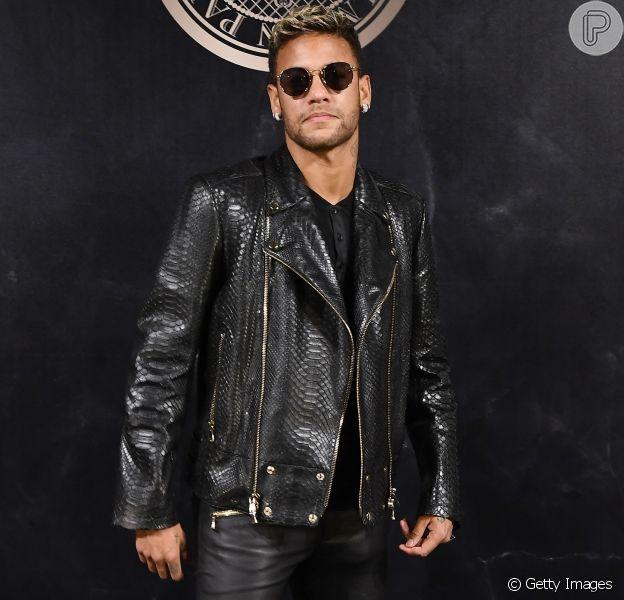 Neymar postou foto ousada em seu Instagram na tarde desta segunda-feira, dia 12 de fevereiro de 2018