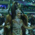 Gracyanne Barbosa voltou à Sapucaí após um ano de ausência