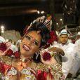 Raíssa Oliveira é rainha de bateria da escola de samba Beija-Flor de Nilópolis