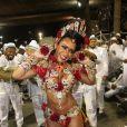 Raíssa Oliveira desconversou sobre o valor da fantasia que usou em desfile da Beija-Flor