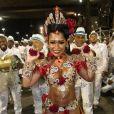 Raíssa Oliveira, rainha de bateria da Beija-Flor,  entregou seu truque de beleza: um óleo