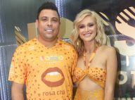 Celina Locks acompanha Ronaldo na Sapucaí e afasta rumor de separação. Fotos!