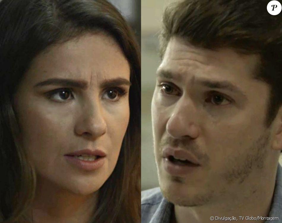 Na novela 'O Outro Lado do Paraíso', Bruno (Caio Paduan) descobrirá que não é o pai do filho que Tônia (Patrícia Elizardo) está esperando e expulsará a médica de casa em capítulo que vai ao ar no dia 2 de março de 2018