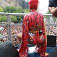 Ludmilla bloco de rua Fervo da Lud Carnaval do Rio terça-feira, dia 13 de fevereiro de 2018