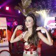 Thaila Ayala entregou que não conseguiu se preparar para o Carnaval por causa de um problema de saúde