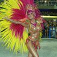 Thaila Ayala desfilou como Musa pela Grande Rio