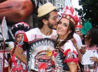 Fátima Bernardes e Túlio Gadêlha curtem bloco de rua no Carnaval do Rio. Fotos!