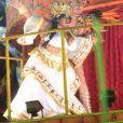 Jojô Toddynho agradeceu a Beija-Flor por sua estreia no desfile da escola de samba: 'Obrigada, Nilópolis. Obrigada, Beija-Flor, por ter me abraçado com tanto amor e carinho! Nós botamos para f* na avenida'