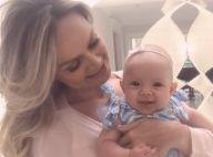Eliana baba pela filha, Manuela, de 5 meses: 'Fico doida de tanto amor'. Foto!