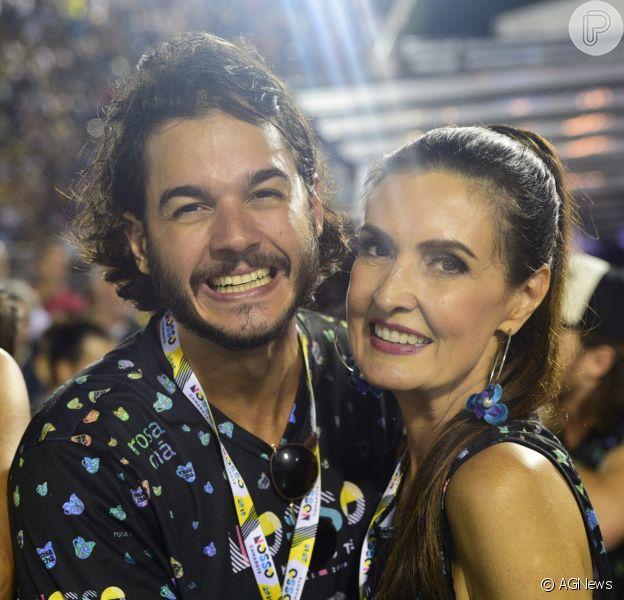 Fátima Bernardes vai com namorado, Túlio Gadêlha, à Sapucaí no desfile das Campeãs neste sábado, dia 17 de fevereiro de 2018