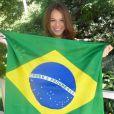 Bruna Marquezine está ansiosa para a Copa do Mundo: 'Vou torcer muito' (11 de junho de 2014)