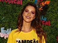 Nathalia Dill assume namoro com músico Pedro Curvello na Sapucaí: 'Estou feliz'
