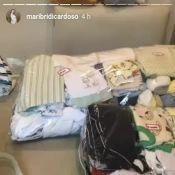 Mulher de Rafael Cardoso dá dica para fazer enxoval de bebê: 'Saco com zíper'