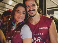 Priscila Fantin comemora 35 anos em foto com novo namorado: 'Meu presente'