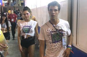 Mariana Goldfarb deixou Sapucaí com Igor Carvalho, apontado como seu novo affair