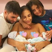 Ivete Sangalo mostra foto amamentando as filhas gêmeas: 'Momento mais pleno'