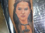 Fã de Bruna Marquezine explica por que tatuou rosto da atriz: 'É muito gata'