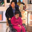 A empresária Adriane Bonatto falou sobre o estado de saúde de Claudia Rodrigues