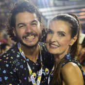 'Não conversamos, ainda', diz Túlio Gadêlha sobre morar com Fátima Bernardes
