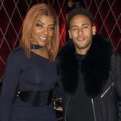 Em turnê, Ludmilla encontra Neymar em Paris e tieta jogador: 'O rei'. Foto!