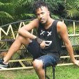 Edson Bibiu, de 30 anos, é dançarino de Ludmilla e já se apresentou com Anitta