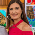 A caracterizadora Mel Paladino explicou o cabelo liso de Fátima Bernardes