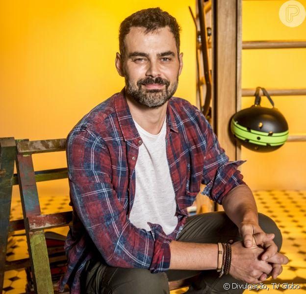 Carmo Dalla Vecchia será Rafael na novela 'Malhação: Vidas Brasileiras', dono da ONG Percurso, que contribuirá para inserção de jovens de baixa renda em escolas e no mercado de trabalho