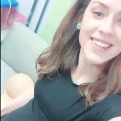 Sophia Abrahão usa barriga falsa e cita namorado após negar gravidez: 'Parabéns'