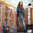 Marina Ruy Barbosa posou com um look xadrez na campanha estrelada por ela para a grife Colcci