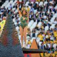Show de abertura da Copa do Mundo com Claudia Leitte, Jennifer Lopez e Rapper Pitbull no Itaquerão, em São Paulo, nesta quinta-feira, 12 de junho de 2014