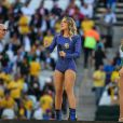 Claudia Leitte e Jennifer Lopez requbraram muito e se esbaldaram ao lado do rappper Pitbull durante o show de abertura da Copa do Mundo 2014