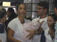 Ivete Sangalo mostra nova foto das gêmeas Marina e Helena: 'Saudáveis e gulosas'