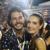 Túlio Gadêlha incentiva Fátima Bernardes em exercício em parque: 'Minha atleta'