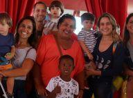 Fernanda Gentil, Sheron Menezzes e mães famosas levam filhos ao circo. Fotos!