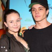 Larissa Manoela e o namorado, Leo Cidade, conferem pré-estreia de filme. Fotos!