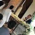 Whindersson Nunes e Luísa Sonza trocam olhares no altar