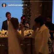 Whindersson Nunes chora com homenagem da noiva, Luisa Sonza, em casamento. Vídeo