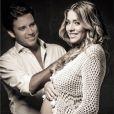 Antonio é o primeiro filho de Luma Costa com seu marido, Leonardo Martins