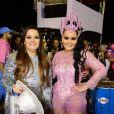 Dupla de Maiara, Maraisa curtiu o Carnaval em São Paulo