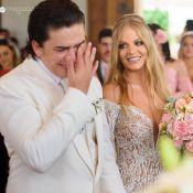 Whindersson Nunes compartilha fotos de casamento com Luísa Sonza: 'Minha vida'