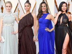 Poderosas! Famosas se destacam com vestidos leves e fluidos no Oscar 2018. Fotos