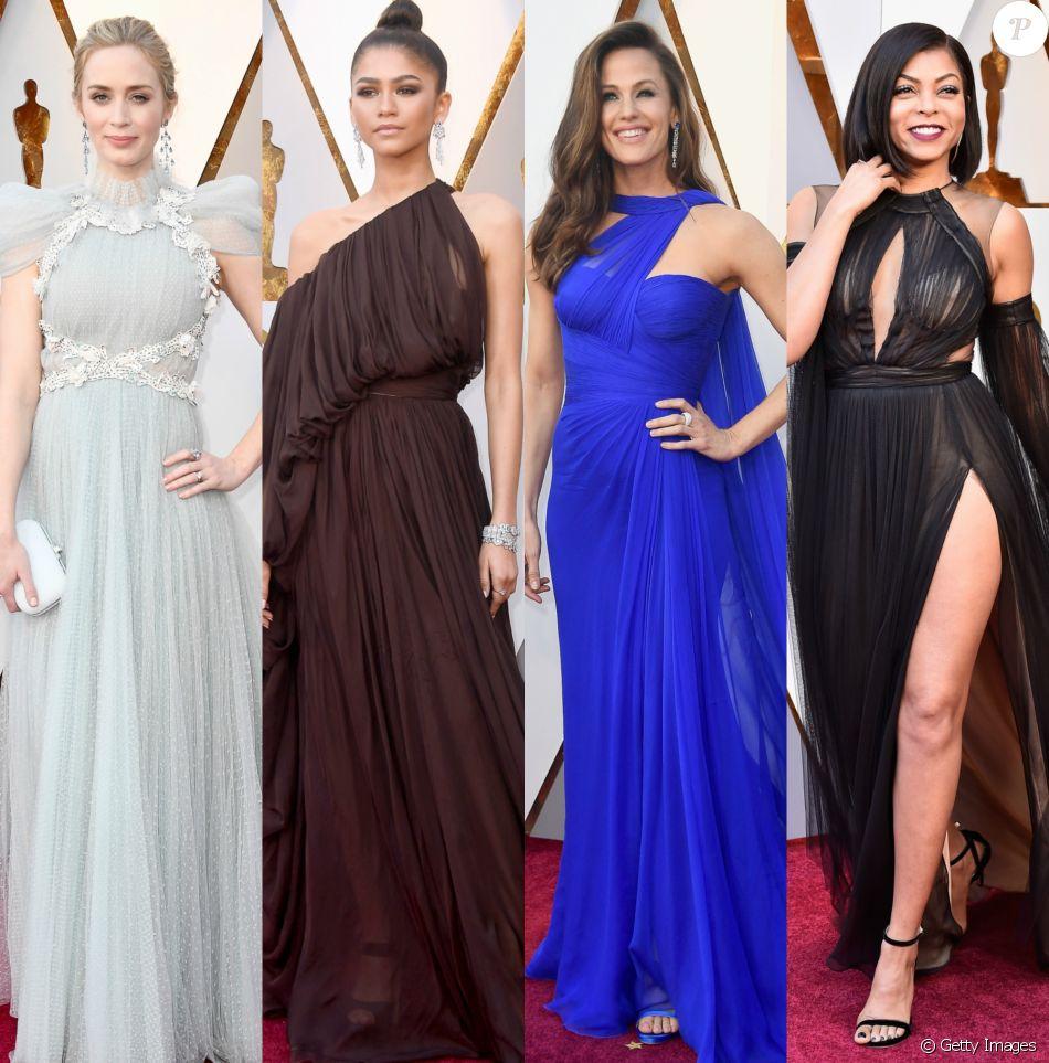 Vestidos Leves E Fluidos Ganham Destaque No Oscar 2018 Veja