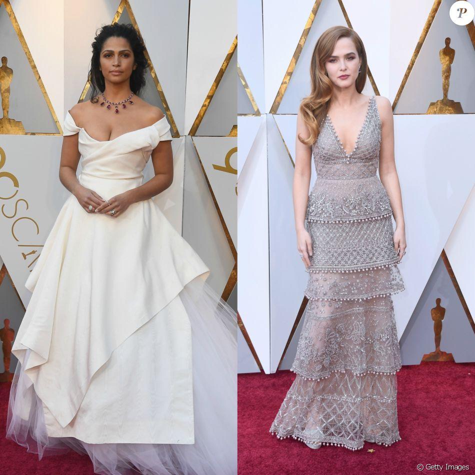 Camila Alves e Zoey Deutch apostam em looks sustentáveis no Oscar 2018 neste domingo, dia 05 de março de 2018