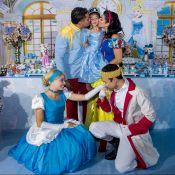 Filha de Naldo Benny e Ellen Cardoso ganha festa de aniversário de 3 anos. Fotos