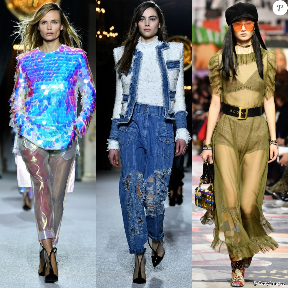 40e306a54 Futurismo, ombreira e balonê: veja as tendências apostas das grifes na  Semana de Moda