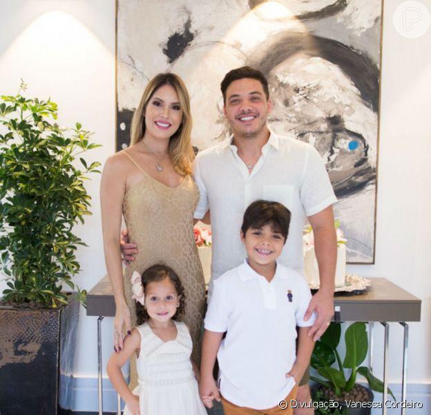 Wesley Safadão adianta shows aos domingos para ficar com filhos em entrevista ao Purepeople nesta quarta-feira, dia 07 de março de 2018